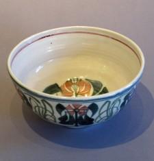 "8"" Deep Lily Bowl"