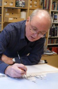 Ken Ferguson at work